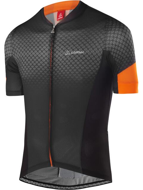 Löffler Pro Vent Bike Trikot Full-Zip Herren anthrazit/orange